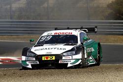 Mike Rockenfeller, Audi Sport Team Phoenix, Audi RS 5 DTM through the gravel