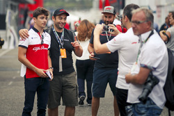 Charles Leclerc, Sauber and fans