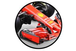 Ferrari SF71H, s duct