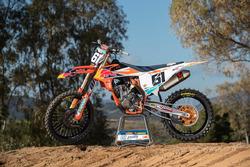 Bike of MX2: Jorge Prado, KTM Factory Racing