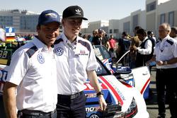 #130 Liqui Moly Team Engstler Volkswagen Golf GTi TCR: Luca Engstler, Jean Karl Vernay