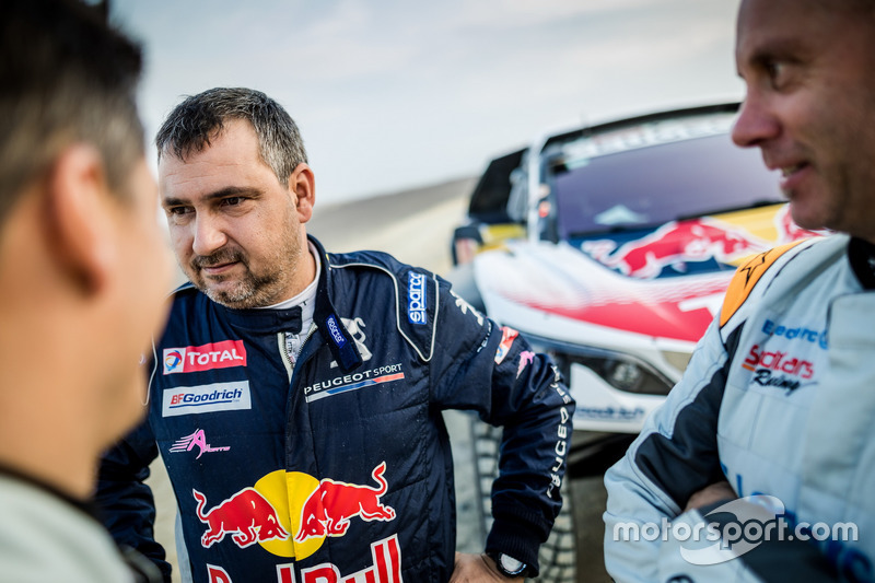 #306 Peugeot Sport Peugeot 3008 DKR: Daniel Elena