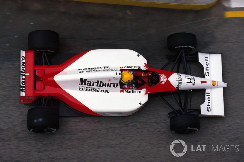 1991 San Marino: McLaren MP4/6