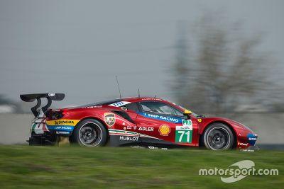 Ferrari 488 GTE unveil