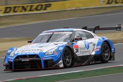 #24 Kondo Racing Nissan GT-R Nismo GT3: Joao Paulo de Oliveira, Mitsunori Takaboshi