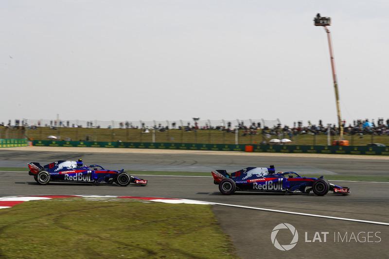 Brendon Hartley, Toro Rosso STR13, Pierre Gasly, Toro Rosso STR13