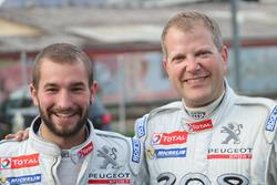 Jonathan Michellod et Stéphane Fellay, Atelier de la Tzoumaz, vainqueurs Junior