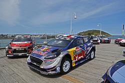 Coche de Sébastien Ogier, Julien Ingrassia, Ford Fiesta WRC, M-Sport