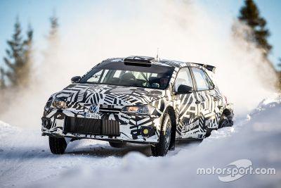 Volkswagen Polo GTI R5 testing