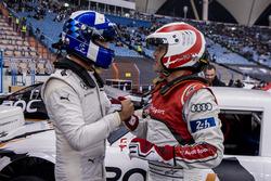 David Coulthard and Tom Kristensen