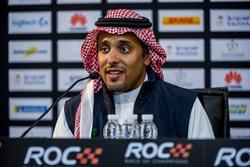 El príncipe Khaled Al Faisal, presidente de la Federación de Motor de Arabia Saudí