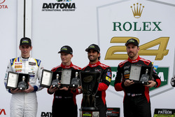 Victory lane, Northern Endurance Cup: #31 Action Express Racing Cadillac DPi: Felipe Nasr, Eric Curr