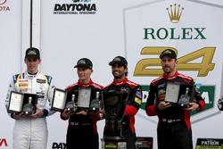 Victory lane, Northern Endurance Cup: #31 Action Express Racing Cadillac DPi: Felipe Nasr, Eric Curran, Mike Conway, Stuart Middleton