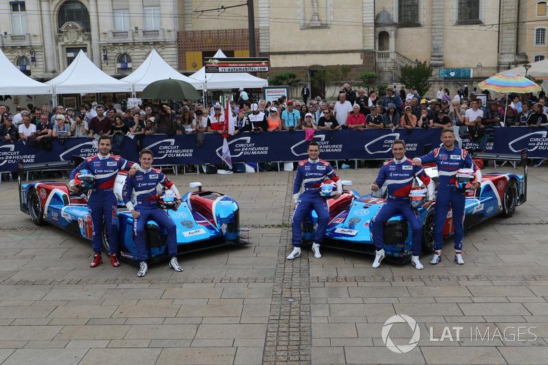 #11 SMP Racing BR Engineering BR1: Mikhail Aleshin, Vitaly Petrov, Jenson Button, #17 SMP Racing BR Engineering BR1: Stéphane Sarrazin, Egor Orudzhev, Matevos Isaakyan