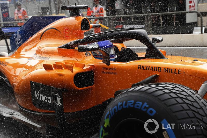 16. Фернандо Алонсо, McLaren MCL33