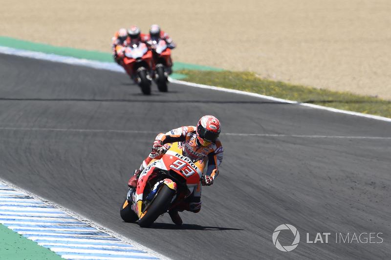 MotoGP Spanyol: Menang