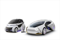 Toyota  Concept i RIDE, Concept-i WALK und Concept-i
