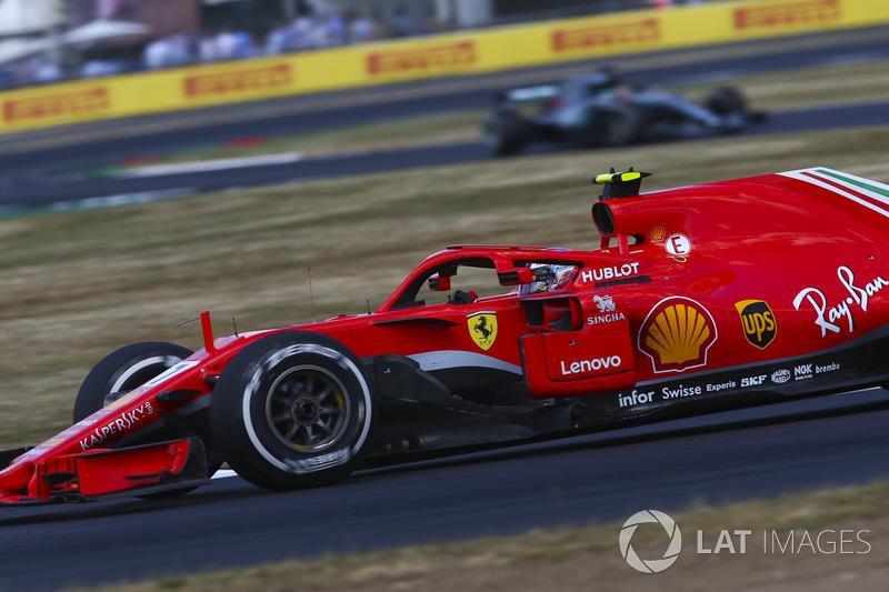 10º Kimi Raikkonen, Ferrari SF71H (547 vueltas)