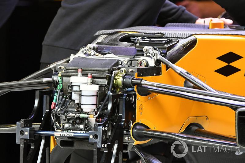 Renault RS17: Vorderradaufhängung
