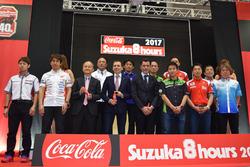 """""""コカ・コーラ""""鈴鹿8時間耐久ロードレース第40回記念大会 記者会見"""
