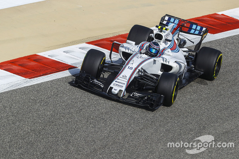 16. Lance Stroll, Williams, FW40