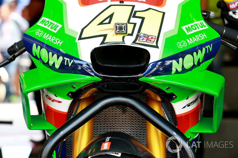 Aleix Espargaro, Aprilia Racing Team Gresini detalle de carenado