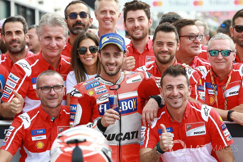 Друге місце у кваліфікації - Андреа Довіціозо, Ducati Team