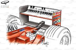 Aileron arrière de la Ferrari F2002 (653)