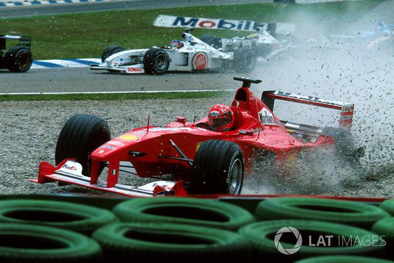 Accident de Michael Schumacher au GP d'Allemagne