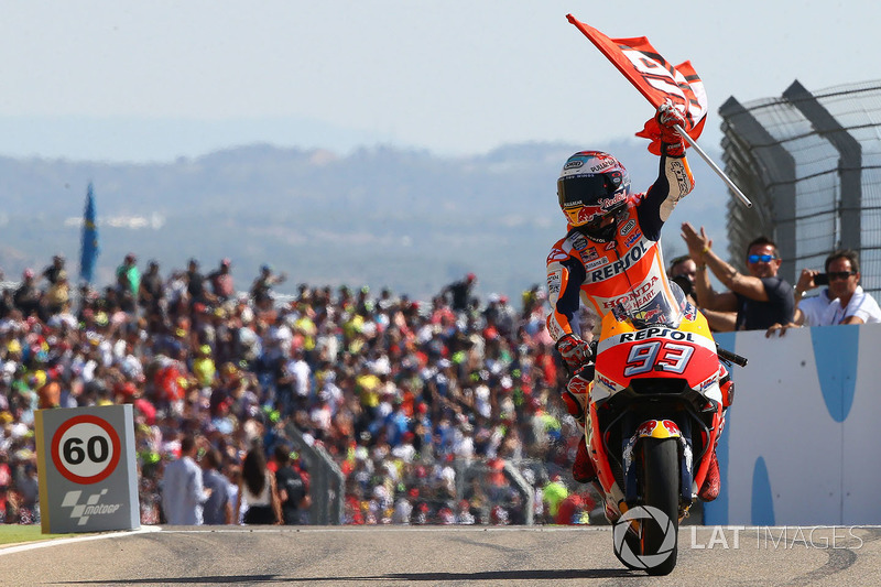 Переможець гонки Марк Маркес, Repsol Honda Team