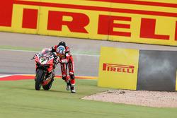 Chaz Davies, Ducati Team stops
