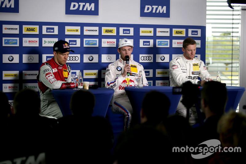 Mattias Ekström, Audi Sport Team Abt Sportsline, Audi A5 DTM, Marco Wittmann, BMW Team RMG, BMW M4 D