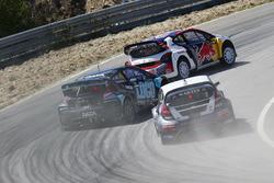 Sebastien Loeb, Team Peugeot-Hansen, Peugeot 208 WRX, Janis Baumanis, STARD, Ford Fiesta, Martin Kaczmarski, Ford Fiesta