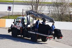 شاحنة تحمل سيارة لانس سترول، ويليامز