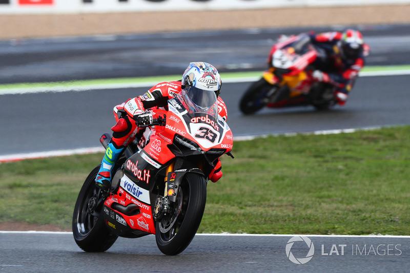 Марко Меландрі, Ducati Team, Давіде Джуліано, Honda World Superbike Team