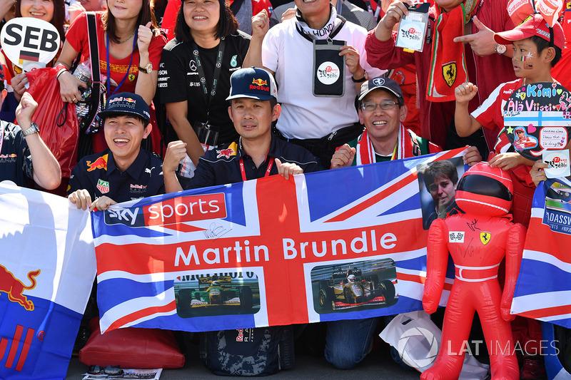 Martin Brundle, Sky TV fans