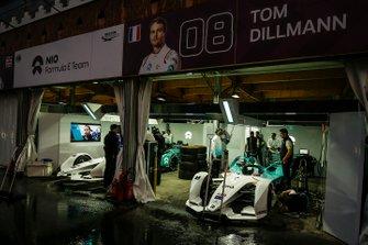 The NIO Formula E Team garages