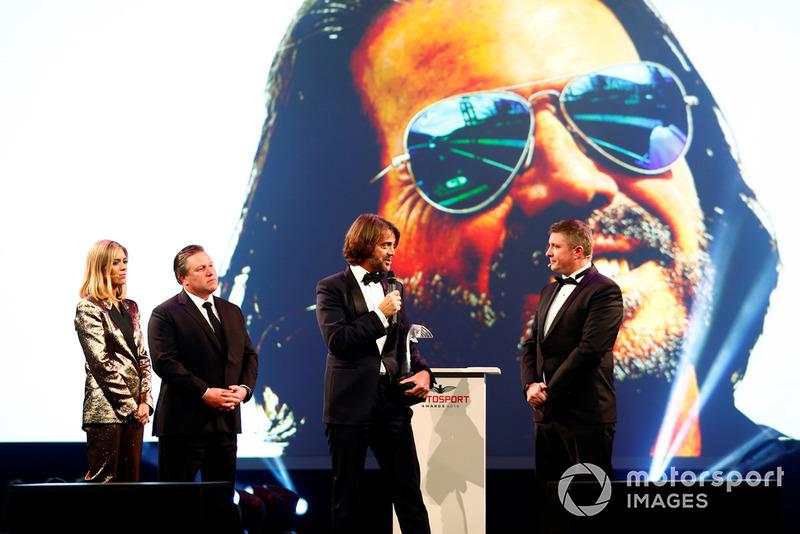 Gregor Grant Award (trophée d'honneur) : Stéphane Ratel (PDG et fondateur de SRO)