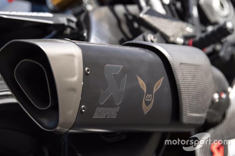 La Yamaha Superbike de Lewis Hamilton en Jerez