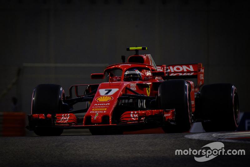 Raikkonen geeft op in de laatste race voor Ferrari