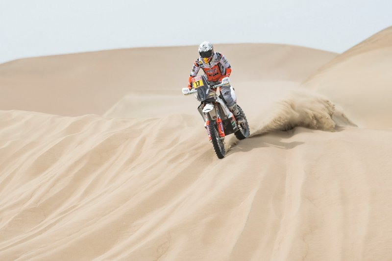 #17 Red Bull KTM Factory Racing: Лайя Санс