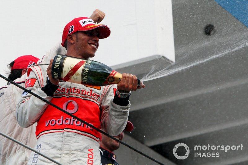 Lewis Hamilton vor zehn Jahren ...