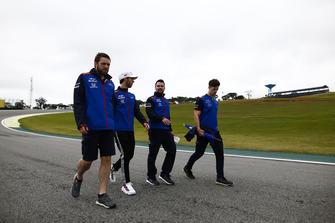 Ознакомление с трассой: Пьер Гасли, Scuderia Toro Rosso