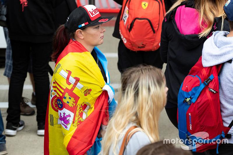Fan de Fernando Alonso, Toyota Racing