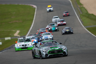 #170 Team Mathol Racing Mercedes AMG GT4: Christian Stingu, Domenico Solombrino, Jochen Herbst