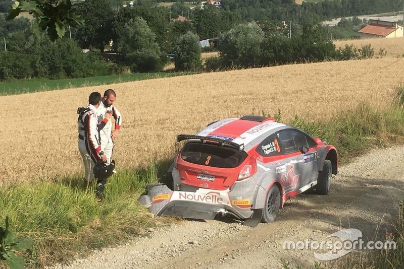 Andrea Crugnola e Danilo Fappani, Ford Fiesta R5, Gass Racing