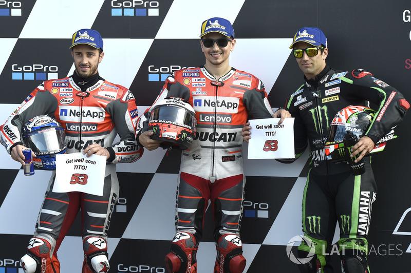 Pole GP Gran Bretaña 2018