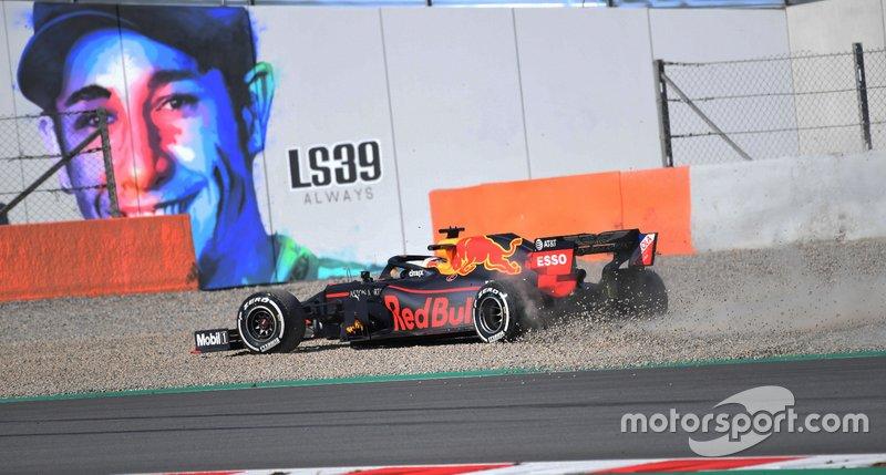 Trompo de Max Verstappen, Red Bull RB15