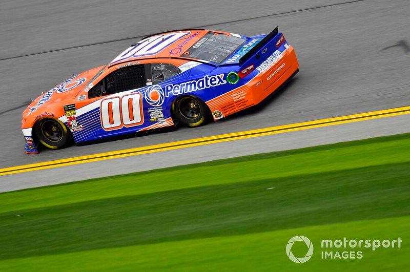 27. Landon Cassill, StarCom Racing, Chevrolet Camaro PERMATEX