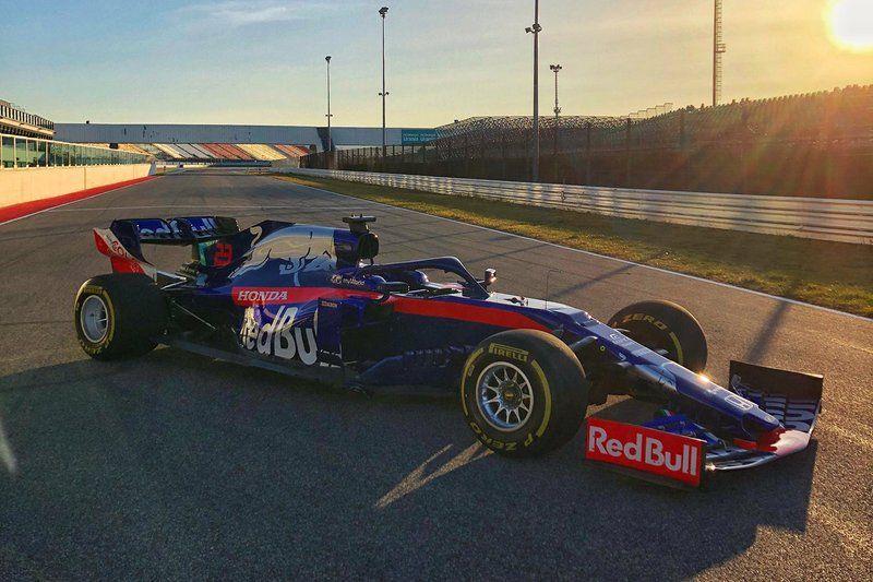 Peluncuran Toro Rosso